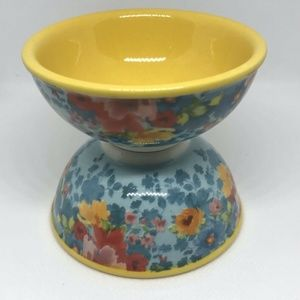 Pioneer Woman Kitchen - Pioneer Woman Dipping Bowls Blossom Jubilee 4 Set